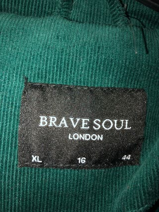Brave soul jacket size16 more of a size 14