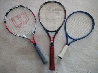 Raquetas Tenis Junior (3)