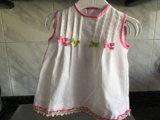 Vestido MIRANDA bebé talla 3 a 6 meses