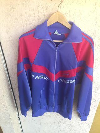 Deporte Chaqueta Sudadera Vintage Retro 80 Adidas De Mano Segunda Bq6qUpw