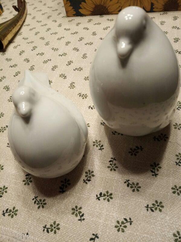 2 palomas porcelana