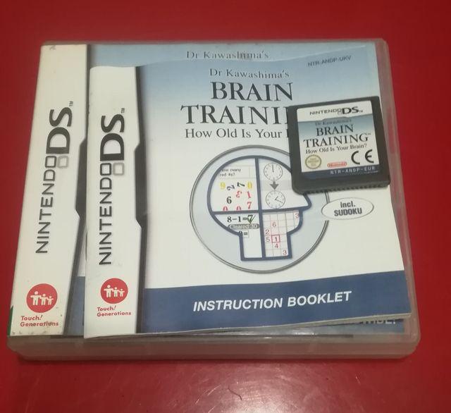 Juego Nintendo ds Brain training