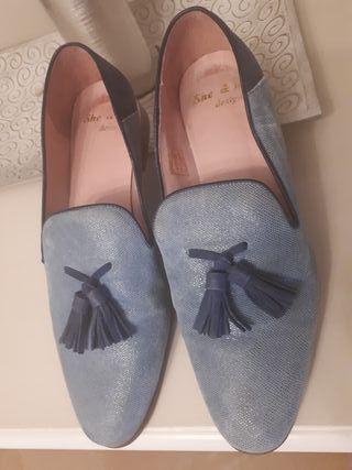 Mocasines mujer fabricante Bow Tie