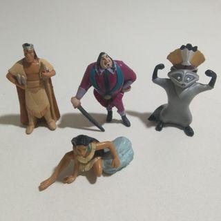 pocahontas figura pvc goma muñeco disney figurita