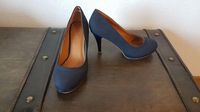Zapato Azul Marino