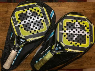 2 palas de padel drop-shot