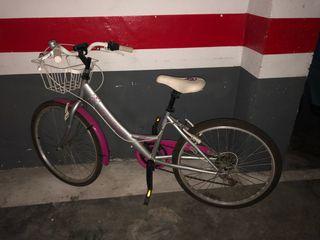 Bicicleta de paseo niña de 24 pilgadas