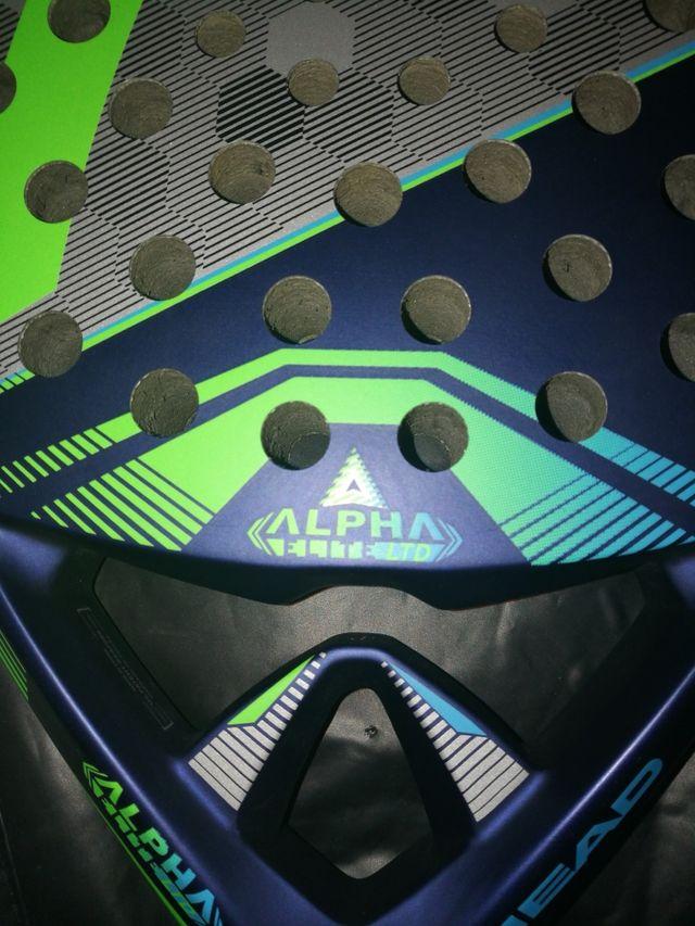Pala padel head alpha + hesacore