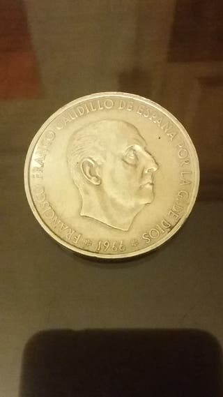 Moneda plata 100 pesetas