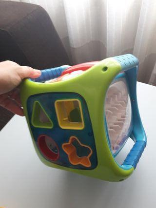 Cubo interactivo imaginarium