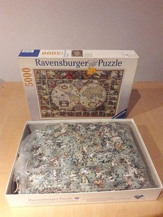 puzzle 5000 con carpeta montaje