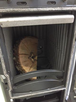 Estufa de leña La Nórdica Súper Max