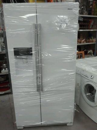 frigorificos americanos blancos haier