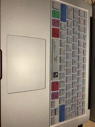 Cubierta teclado MacBook Air