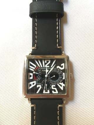 "Reloj negro para hombre marca ""Racer"""