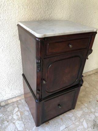 mueble auxiliar caoba