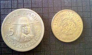 Lote monedas Perú 1976