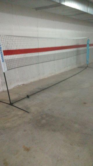 red voley, tenis, badminton, etc