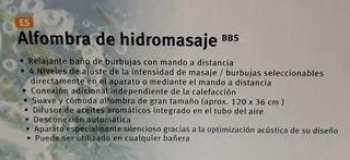 Alfombra Hidromasaje Bañera