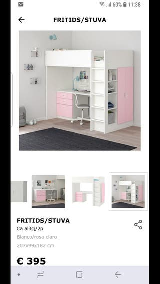 Cama Ikea stuva fritids