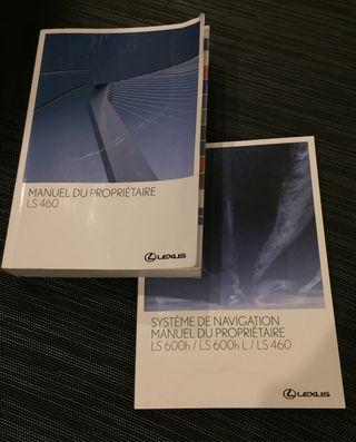 Manuales de usuario del Lexus LS 460