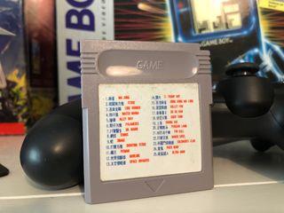 Cartucho multijuego Game Boy