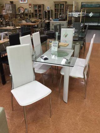 Mesa con 6 sillas [KM-181103]