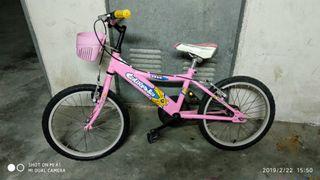 bicicleta para niña (BH California)