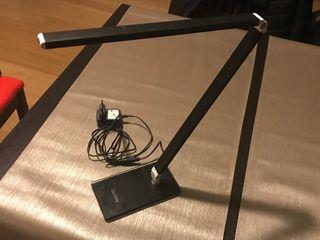Lámpara de Escritorio LED Plegable/Giratoria