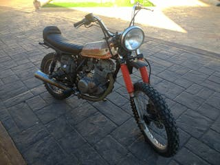 Yamaha Sr 250 Ratbike