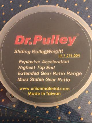 Rodillos DR PULLEY16g kymco xciting 400