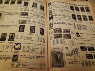 catalogo Michel sellos 1966