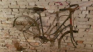 bicicleta antigua frenos varilla
