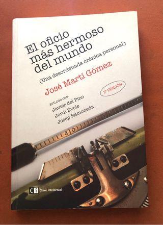 LIBRO EL OFICIO MÁS HERMOSO DEL MUNDO