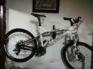 bici de trial RR Monbraker blanca