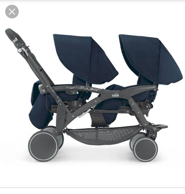 carrito gemelar