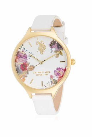 Reloj mujer US Polo Assn color blanco
