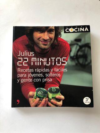 Libro de cocina 22 minutos - Julius