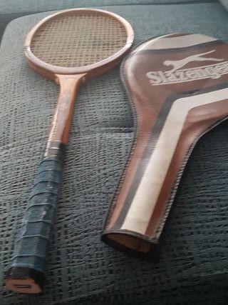 Raqueta Tenis de Madera