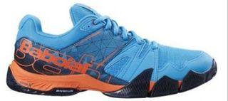 Zapatillas babolat pulsa azul naranja