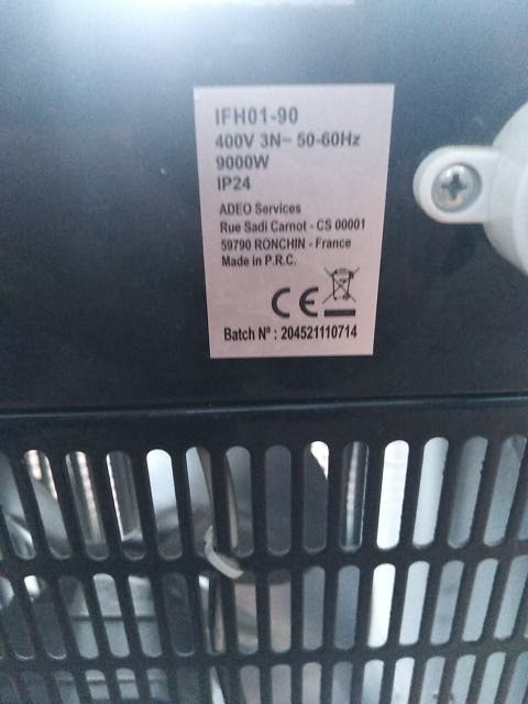 calefactor industrial