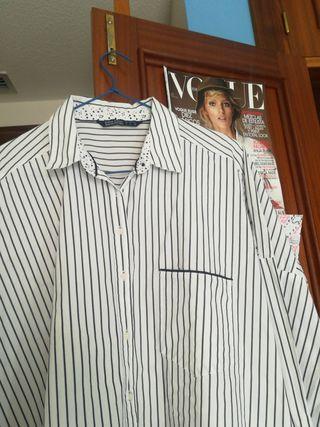 Camisa de rayas ZARA L oversize de segunda mano por 10 € en