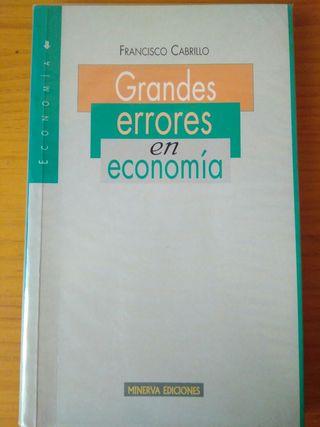 Grandes errores en economía (Minerva Ediciones)