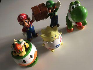 Muñecos varios Mario Bros