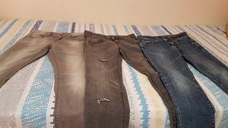 oferta lote de pantalones tejanos de niño