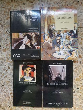 Libros clásicos y modernos. Castellano y Catalán.