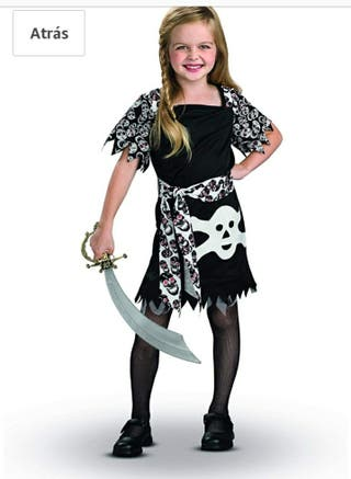 Disfraz niña 7-9 años