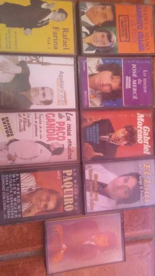 Lote cassettes flameco