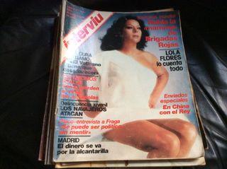 Revistas antiguas interviu