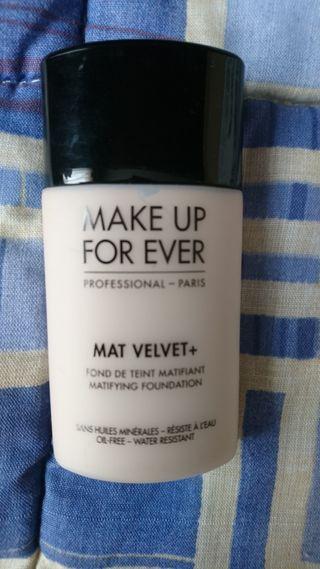 Base maquillaje Mat Velvet 30 o 35 y regalo MUFE